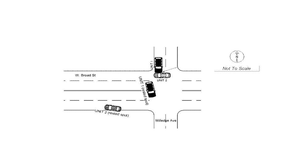medium resolution of diagram from the georgia motor vehicle crash report