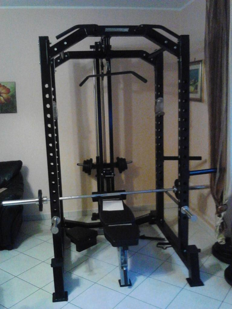 Verkaufe Barbarian Line Power Cage Modell 2011