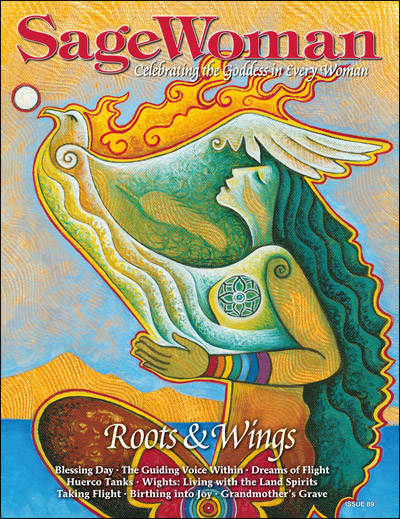 SageWoman #89 Roots and Wings (pre-order) - Click Image to Close