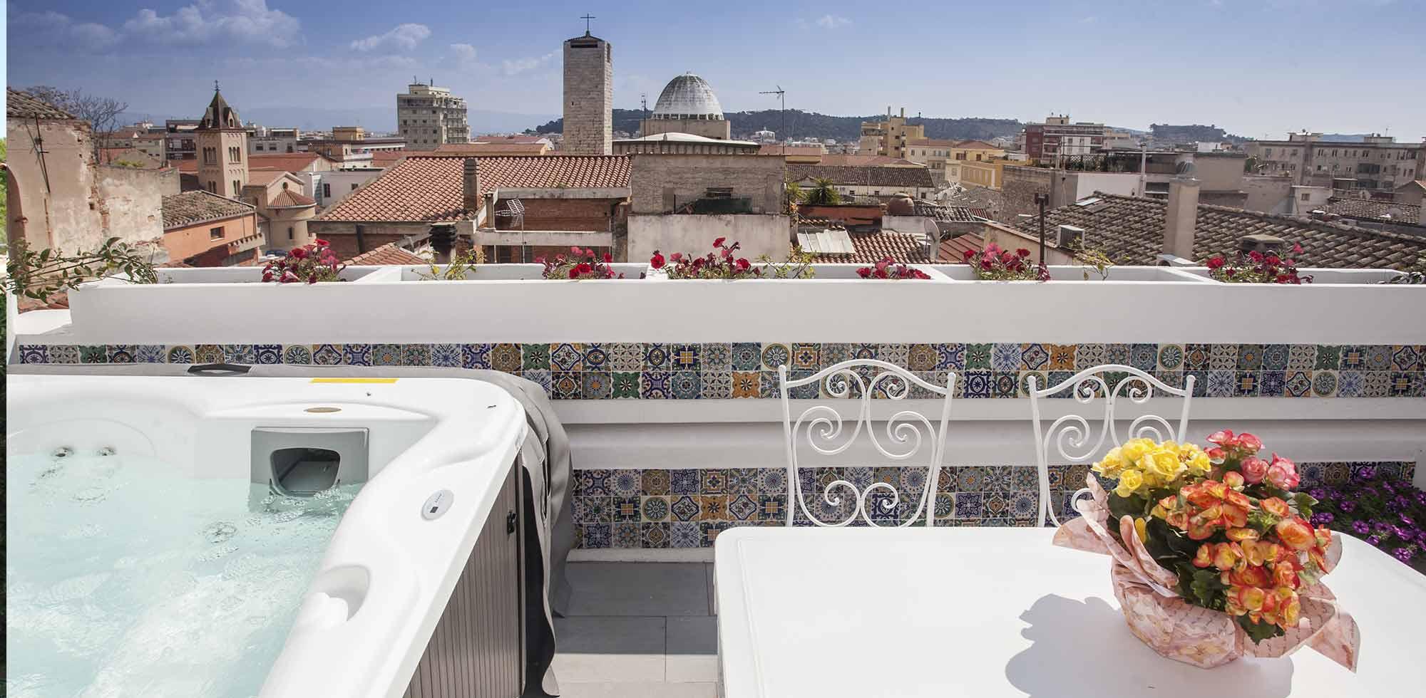 La Terrazza di Bea Appartamento  Associazione BB in Cagliari
