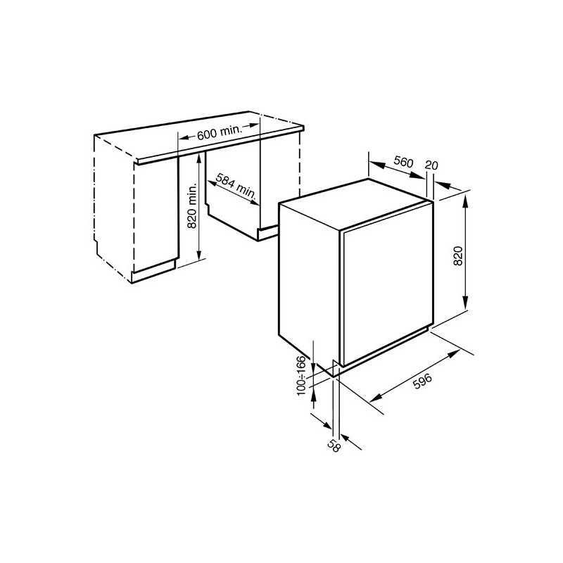 Smeg 60cm WMI147 Integrated Washing Machine 7kg