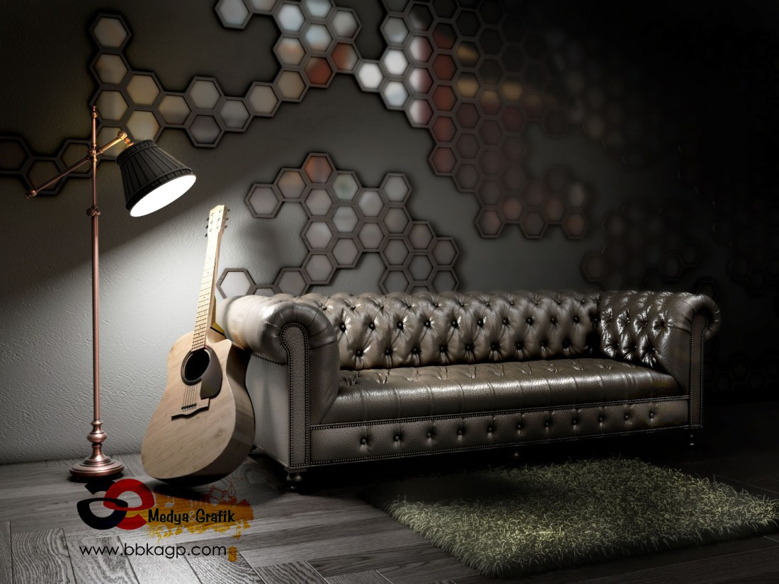 Post Production Ankara Vray Render Photorealistic