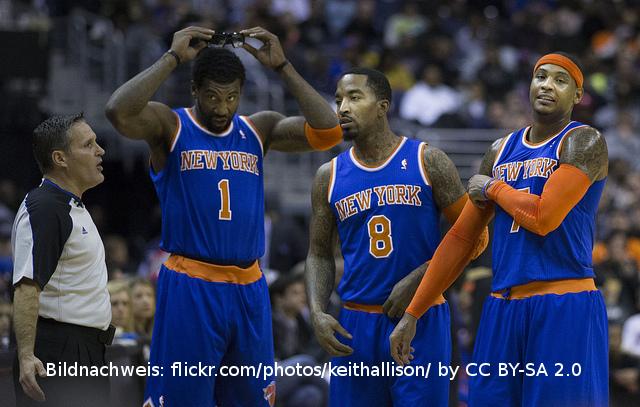 Niederlagen-Serie der Knicks nimmt nicht ab