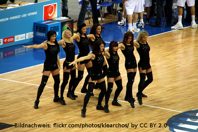 Zalgiris Kaunas Cheerleader EuroLeague
