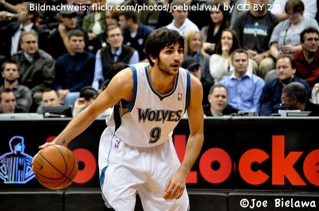 Ricky Rubio Timberwolves 2