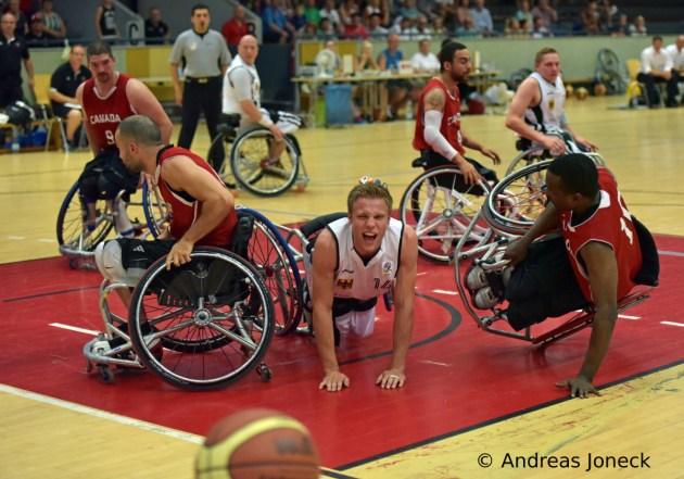 Rollstuhlbasketball - Böhme