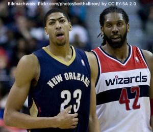 New Orleans Pelicans - Anthony Davis - Nene Hilario