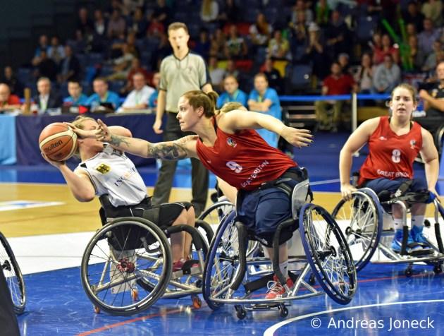 Rollstuhlbasketball - Team Germany - Annabel Breuer