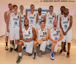 HEBEISEN WHITE WINGS Hanau - Teamfoto