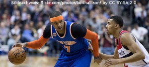 NBA - Carmelo Anthony - Otto Porter Jr