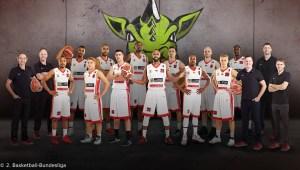 DE - Teamfoto - Artland Dragons 2016-2017