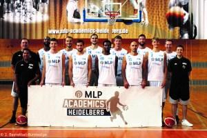 DE - Teamfoto - MLP Academics Heidelberg 2016-2017
