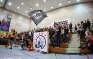 Blick auf das Geschehen am ersten Spieltag im Nürnberger Vorbereitungsturnier