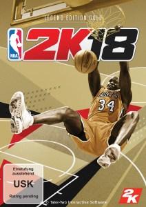 NBA2K18 Legend Edition Gold