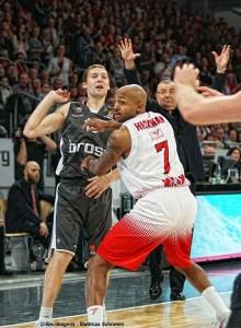 Europa - Ricky Hickmann - EuroLeague - Action - Olimpia Milano