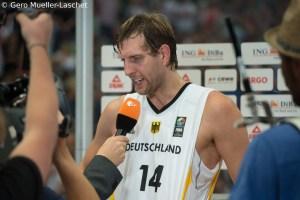 DE - Action - DBB - Dirk Nowitzki