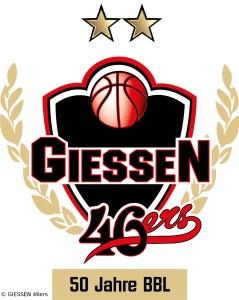 DE - Logo - GIESSEN 46ers - 50 Jahre BBL