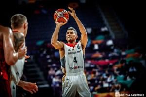 EuroBasket 2017 - Action - Deutschland - Wurf von Maodo Lo
