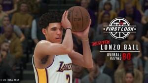Gaming - Los Angeles Lakers - Lonzo Ball