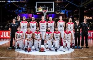 FIBA Qualifikation - Deutschland - Teamfoto