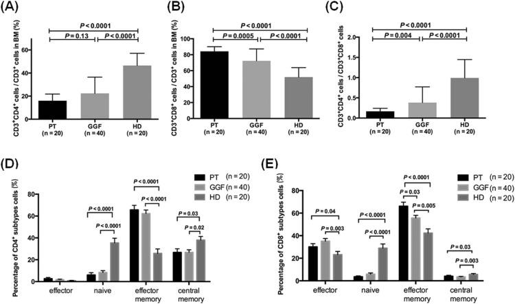Abnormalities of the Bone Marrow Immune Microenvironment