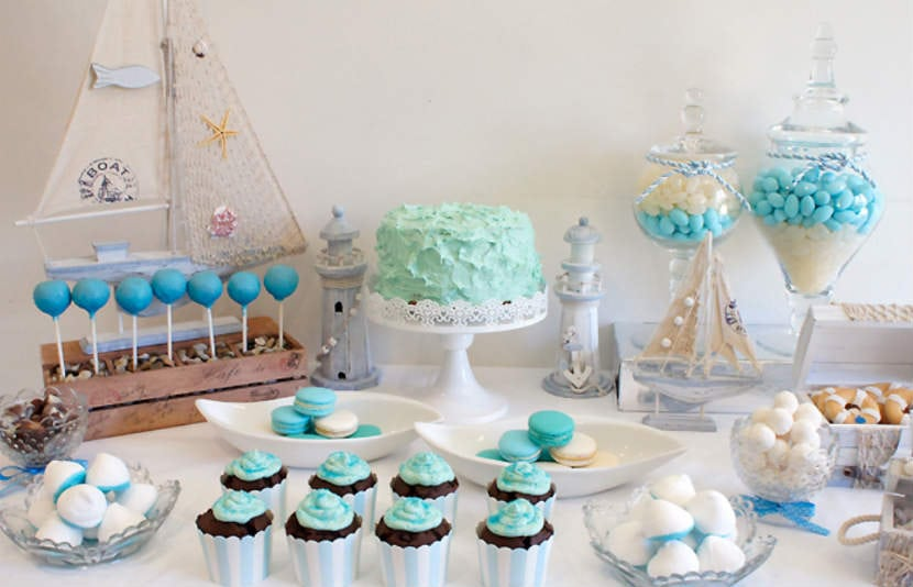 Yellow And Grey Owl Baby Shower