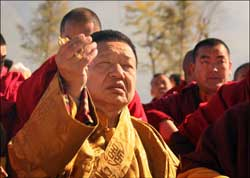 Buddhist monastery founder killed: Cremation ceremony planned in Tibet