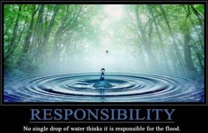 Taking responsibility for our lives : Living Buddhism