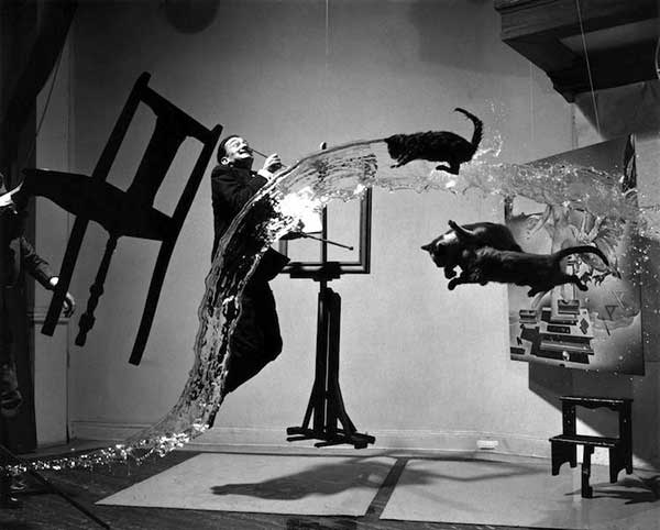 The Most Iconic Photos Of The 1940s: Dalí Atomicus, 1948