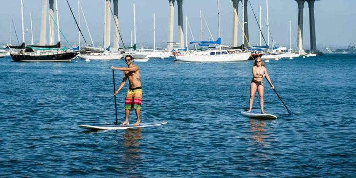 The 8 SUP Spots in San Diego