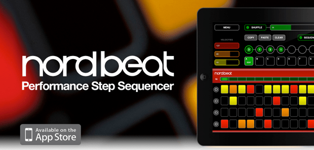 NORD BEAT App for iPad