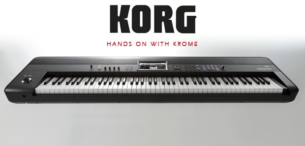 Quick Hands On With Korg Krome