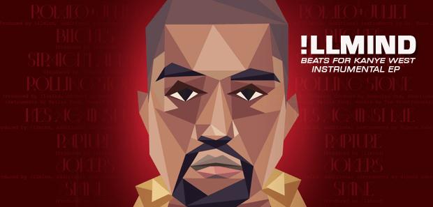 !.B.F.K.W. - !llmind Beats For Kanye West EP