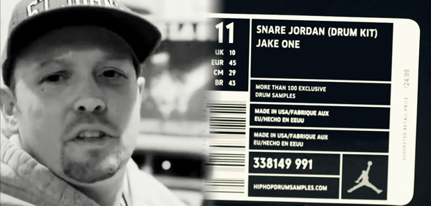 The Official Jake One Drum Kit - Snare Jordan