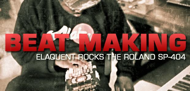 BEATMAKING: Elaquent Rocks the iPad and SP 404