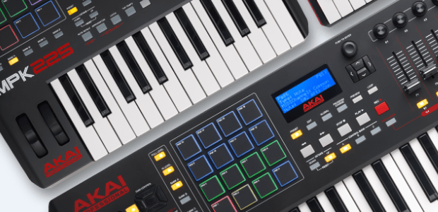 Latest Line Of Akai Professional Mpk Keyboard/Pad Controllers Now Available