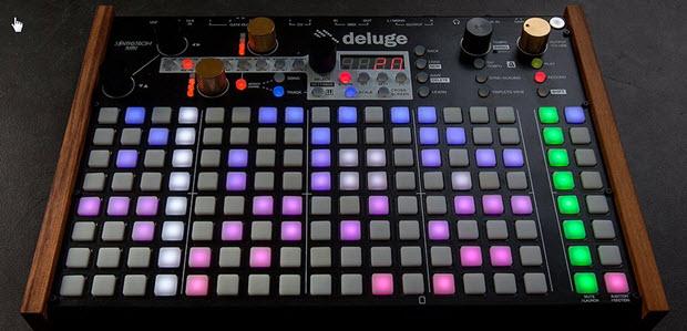 Deluge by Synthstrom Audible - Portable, Combination Synthesizer, Sequencer and Sampler