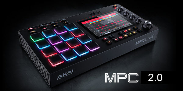 Akai Professional Announces Mpc 2.0 Music Production Software