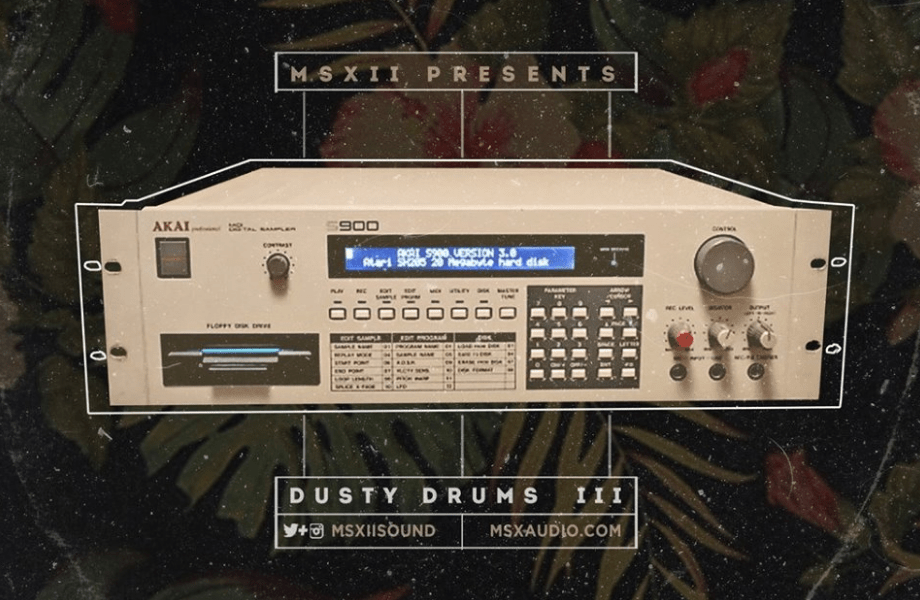 MSX Audio Presents Dusty Drums 3