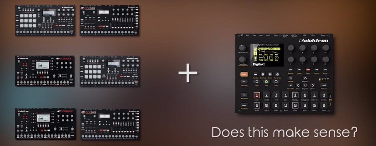 Elektron Digitakt - The Ultimate Comparison Video With Multiple Scenarios