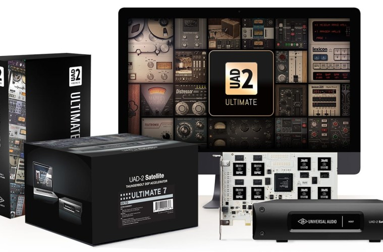 Universal Audio Announces New UAD‑2 OCTO Ultimate 7 DSP Accelerator