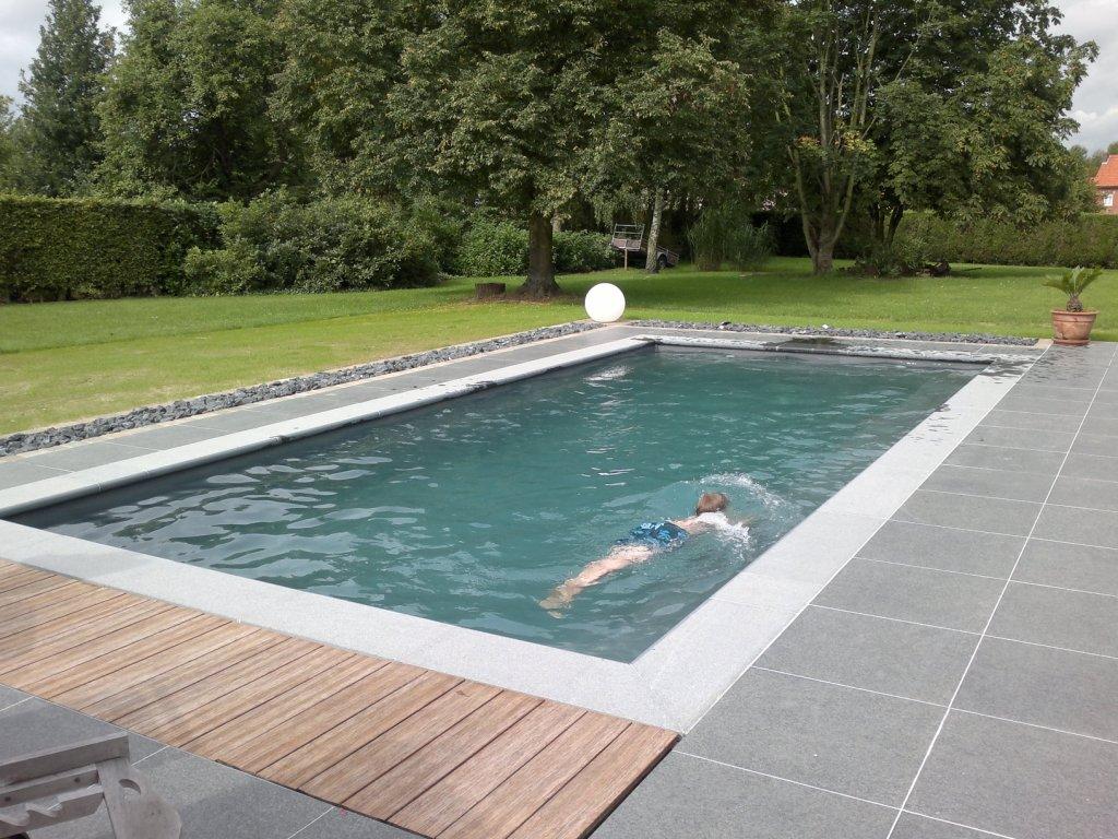 Inbouw Delen Grijs Zwembad