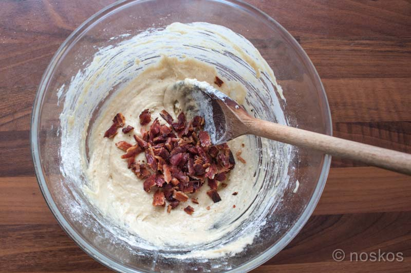 Bacon Cupcakes met Maple Syrup Frosting - beslag
