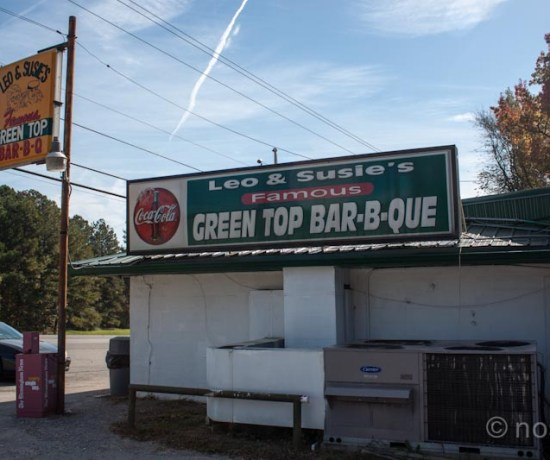 Green Top Bar-B-Que