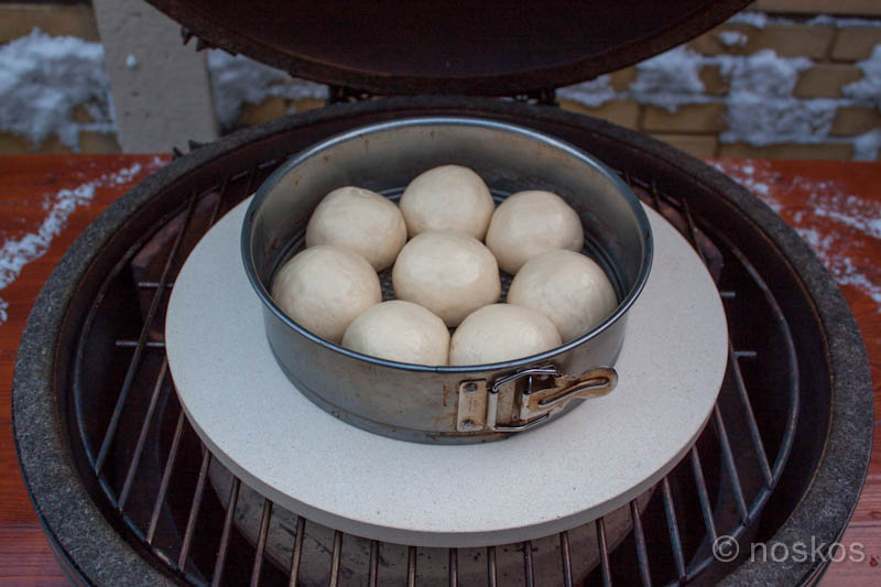Breekbrood - op de barbecue