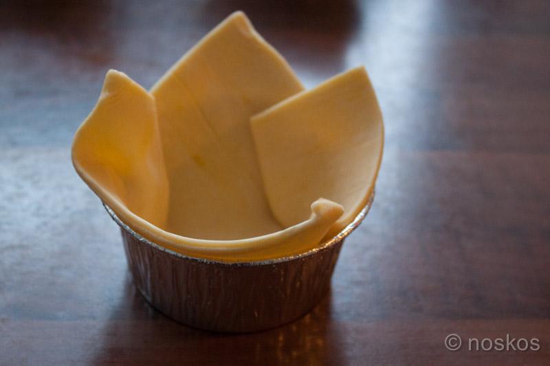 Spinazie-brietaartjes - het bladerdeeg