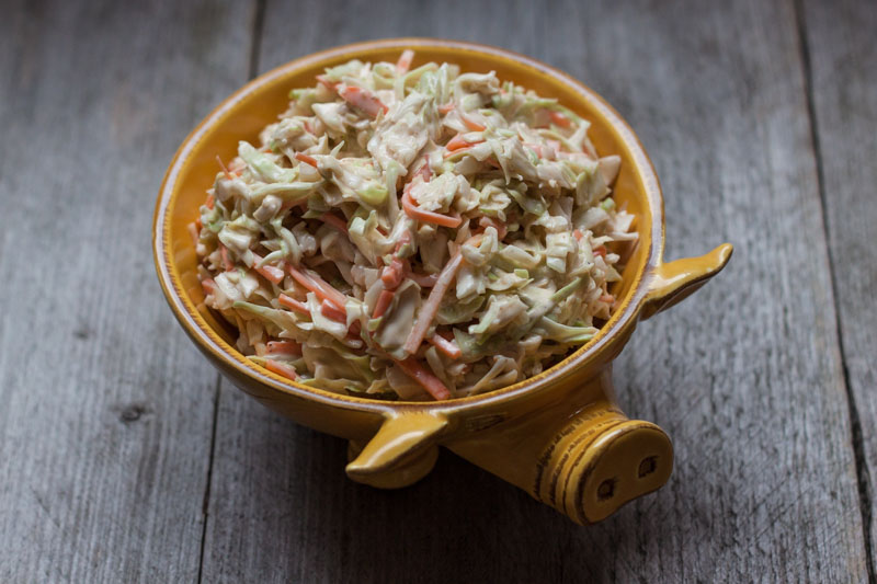 Sea Side Smokers Coleslaw