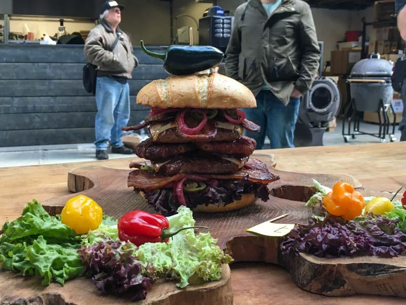 HarlemBBQ Hamburger Cook-Off