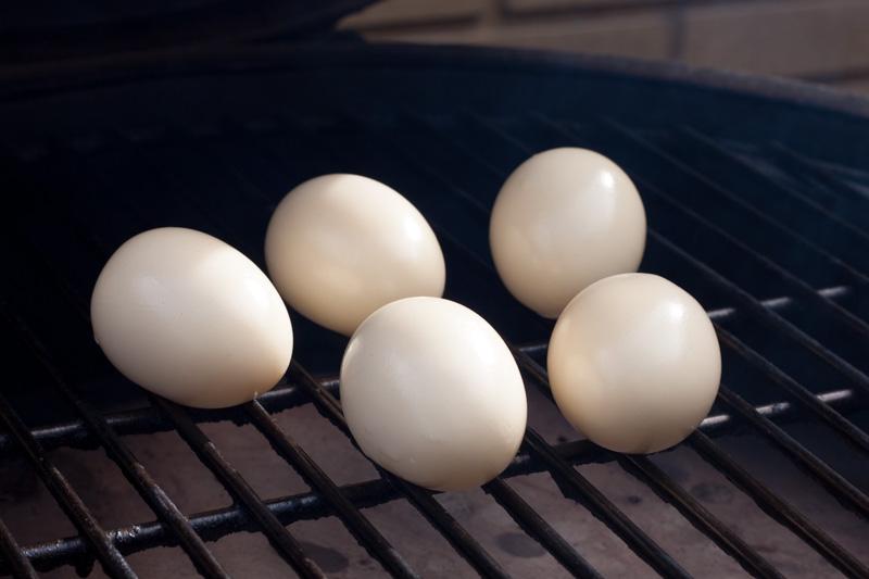 Gerookte eiersalade
