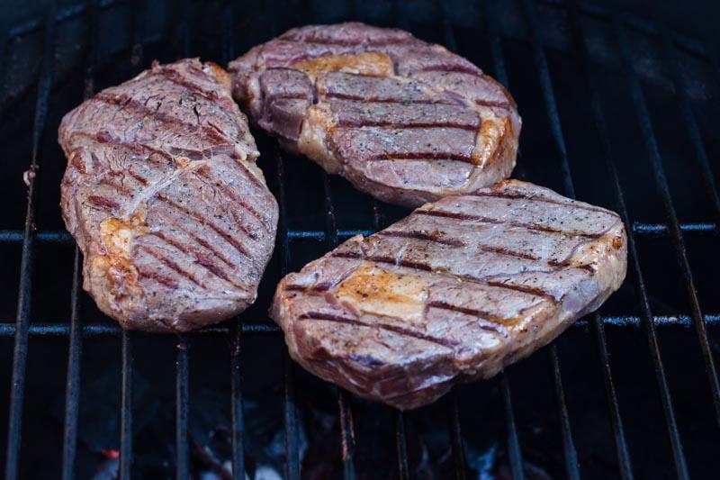 Sous-vide steak - op de barbecue